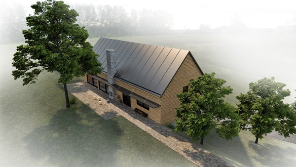Visualization of the new scout clubhouse in Ricany
